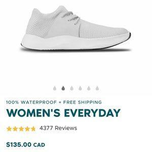 NWT Waterproof Vessi Everyday Sneaker, White
